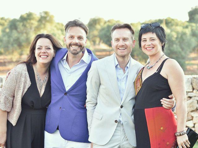 Il matrimonio di Geoff e Naigel a Ceglie Messapica, Brindisi 81