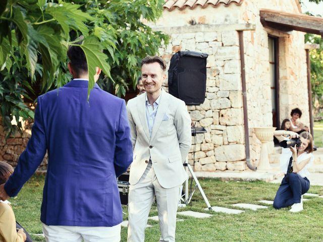 Il matrimonio di Geoff e Naigel a Ceglie Messapica, Brindisi 39
