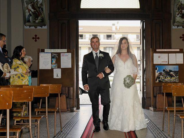 Il matrimonio di Christopher e Rossella a Santo Stefano Ticino, Milano 64