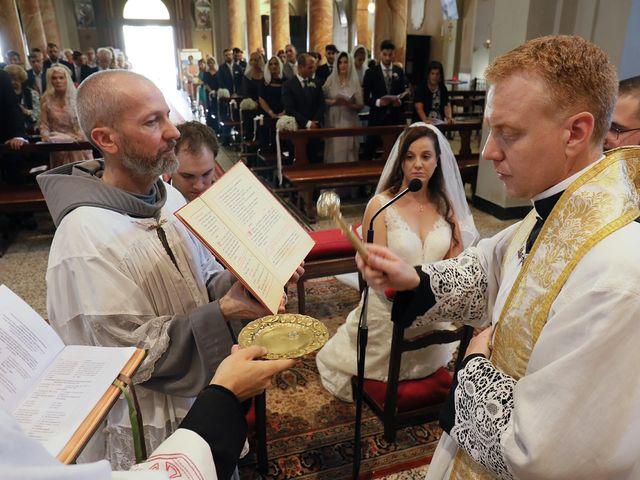 Il matrimonio di Christopher e Rossella a Santo Stefano Ticino, Milano 74