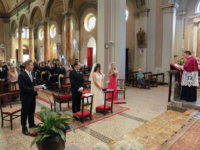 Il matrimonio di Christopher e Rossella a Santo Stefano Ticino, Milano 79