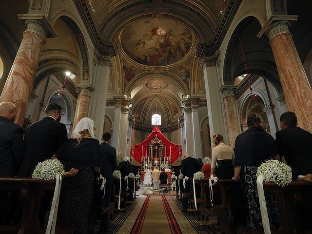 Il matrimonio di Christopher e Rossella a Santo Stefano Ticino, Milano 85