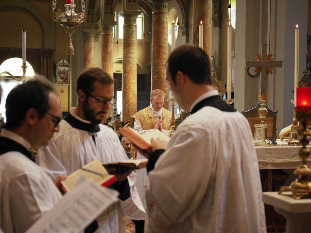 Il matrimonio di Christopher e Rossella a Santo Stefano Ticino, Milano 94