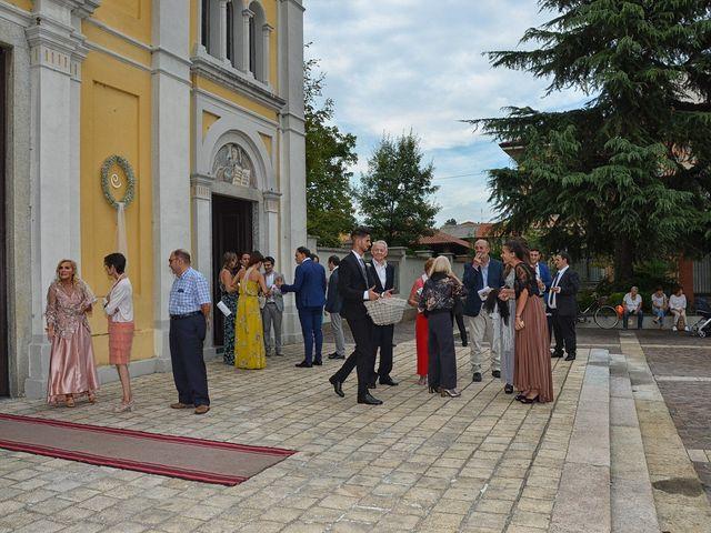 Il matrimonio di Christopher e Rossella a Santo Stefano Ticino, Milano 103