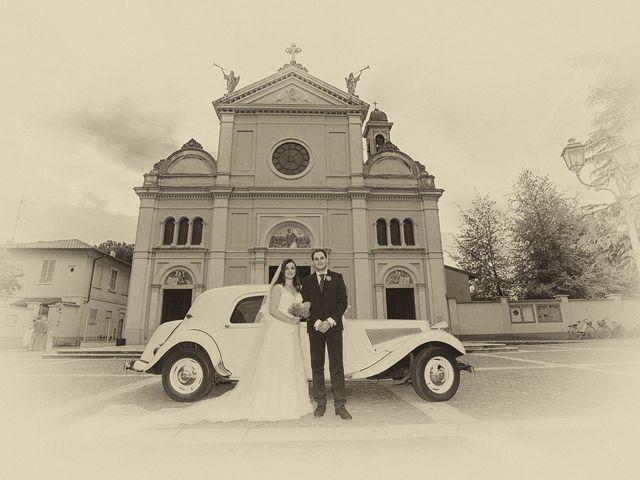 Il matrimonio di Christopher e Rossella a Santo Stefano Ticino, Milano 115