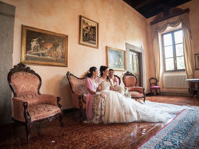 Il matrimonio di Luca e Chiara a San Martino al Cimino, Viterbo 10