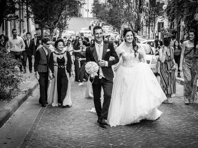 Il matrimonio di Luca e Chiara a San Martino al Cimino, Viterbo 17