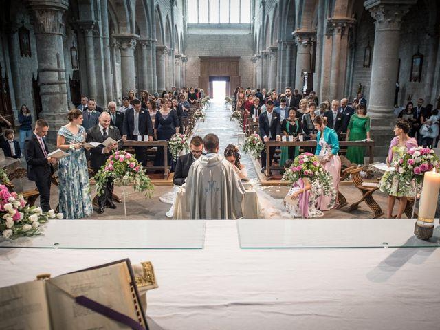 Il matrimonio di Luca e Chiara a San Martino al Cimino, Viterbo 19