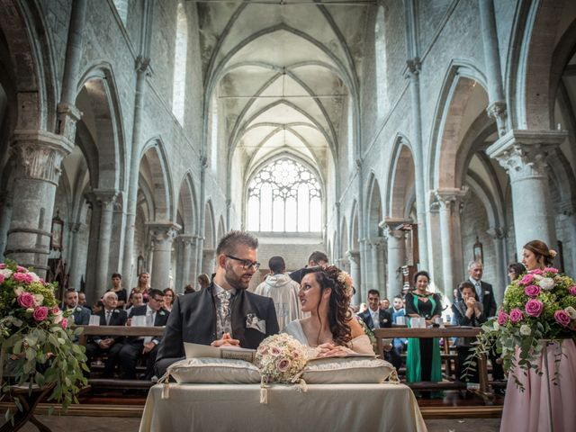 Il matrimonio di Luca e Chiara a San Martino al Cimino, Viterbo 20