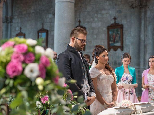 Il matrimonio di Luca e Chiara a San Martino al Cimino, Viterbo 25