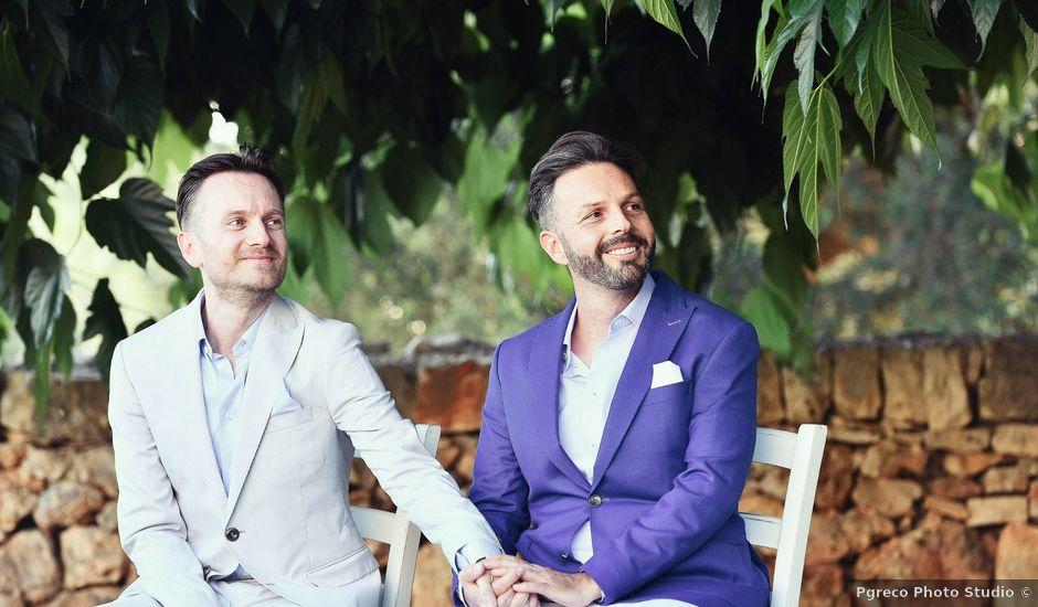 Il matrimonio di Geoff e Naigel a Ceglie Messapica, Brindisi