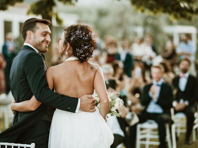 Il matrimonio di Lorenzo e Martina a Montevarchi, Arezzo 81