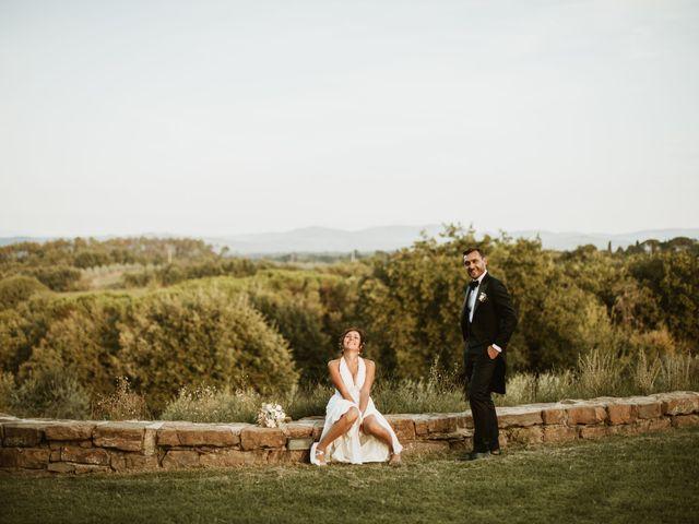 Il matrimonio di Lorenzo e Martina a Montevarchi, Arezzo 109