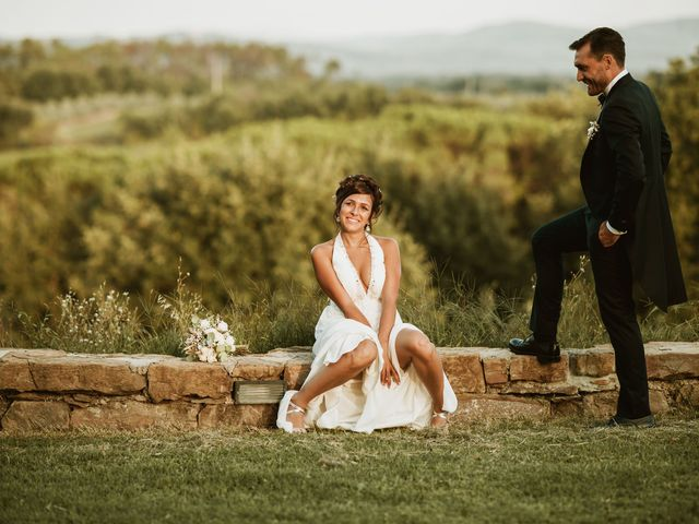 Il matrimonio di Lorenzo e Martina a Montevarchi, Arezzo 110