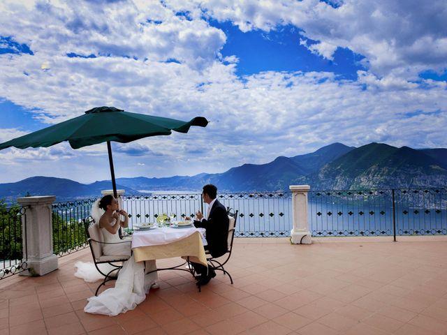 Il matrimonio di Alessio e Emanuela a Marone, Brescia 21