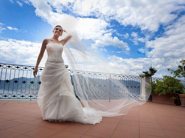 Il matrimonio di Alessio e Emanuela a Marone, Brescia 25