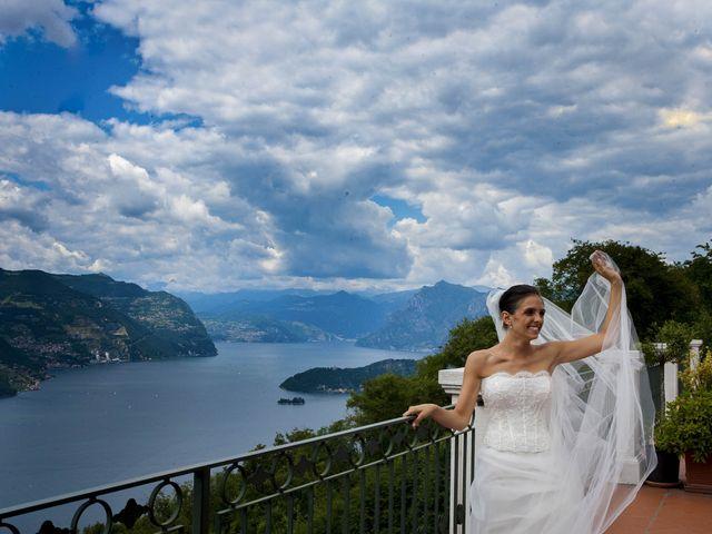 Il matrimonio di Alessio e Emanuela a Marone, Brescia 26