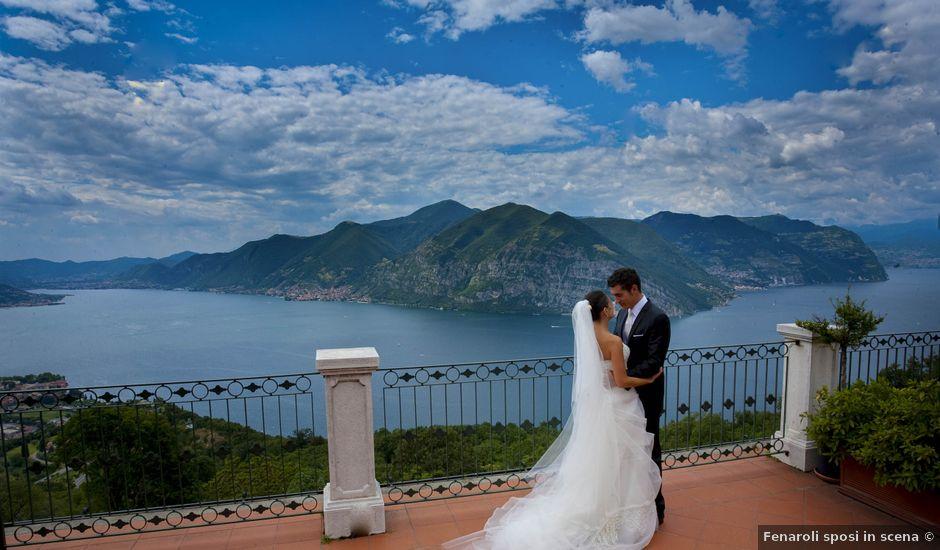 Il matrimonio di Alessio e Emanuela a Marone, Brescia