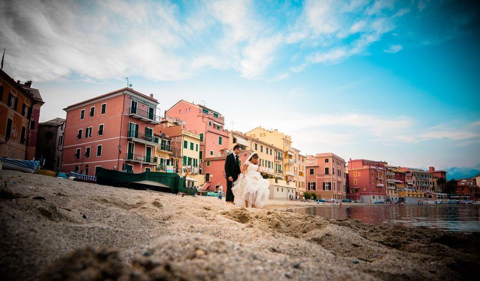 Il matrimonio di Federico e Indira a Sestri Levante, Genova