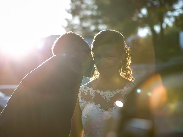 Le nozze di Cynthia e Ivan
