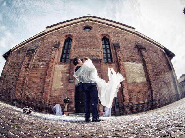 Il matrimonio di Lorenzo e Erika a Novara, Novara 41