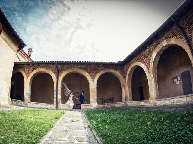 Il matrimonio di Lorenzo e Erika a Novara, Novara 42
