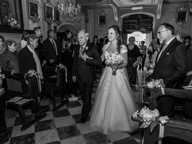 Il matrimonio di Daniele e Romina a Casalnoceto, Alessandria 18