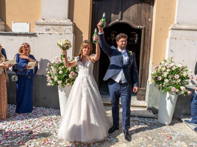 Il matrimonio di Daniele e Romina a Casalnoceto, Alessandria 24