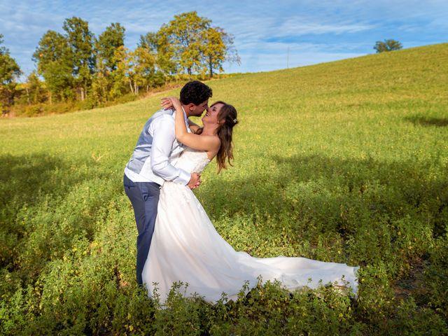 Il matrimonio di Daniele e Romina a Casalnoceto, Alessandria 37