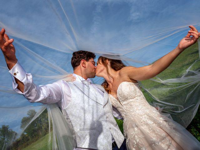 Il matrimonio di Daniele e Romina a Casalnoceto, Alessandria 1