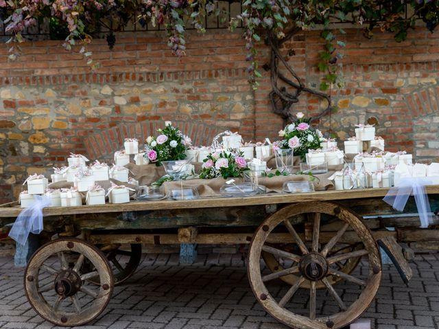 Il matrimonio di Daniele e Romina a Casalnoceto, Alessandria 45