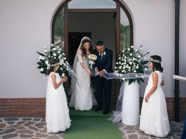 Il matrimonio di Adriana e Giuseppe a Potenza, Potenza 33
