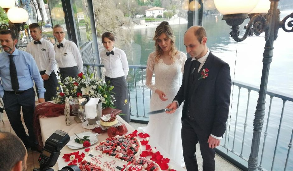 Il matrimonio di Claudio e Chiara a Luino, Varese