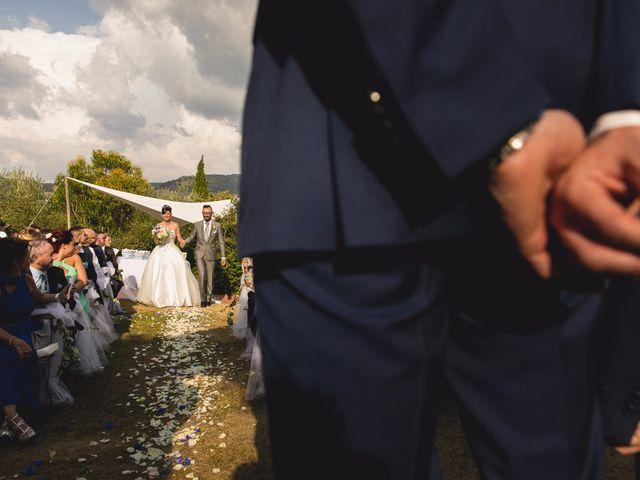 Il matrimonio di Isaac e Alice a Greve in Chianti, Firenze 23