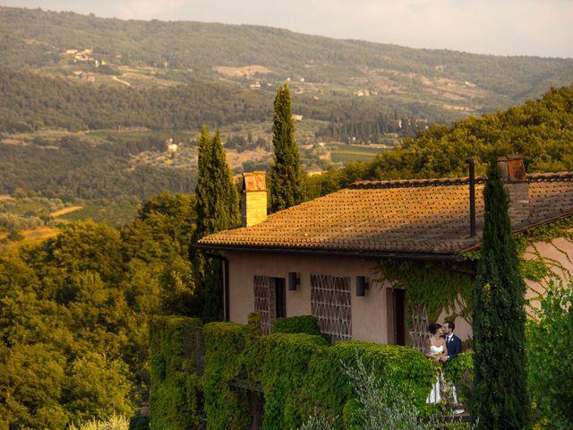 Il matrimonio di Isaac e Alice a Greve in Chianti, Firenze 37