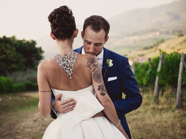Il matrimonio di Isaac e Alice a Greve in Chianti, Firenze 40