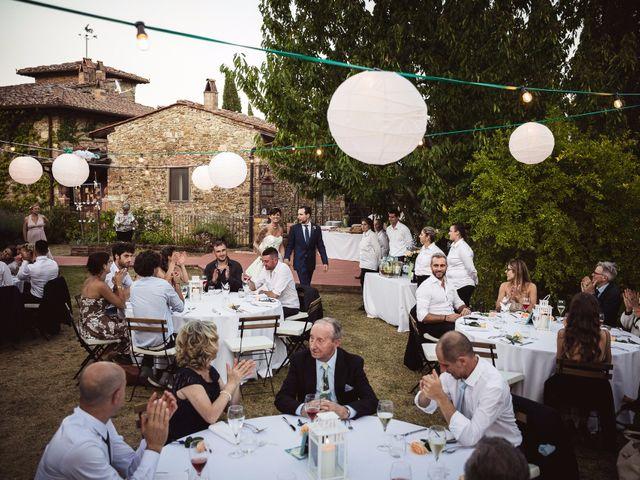 Il matrimonio di Isaac e Alice a Greve in Chianti, Firenze 44
