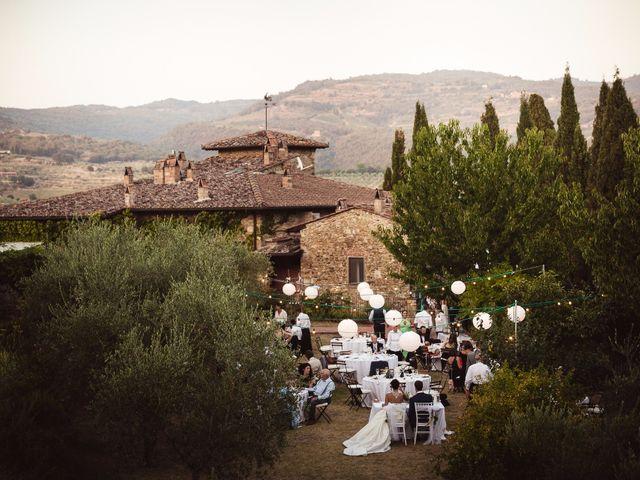 Il matrimonio di Isaac e Alice a Greve in Chianti, Firenze 45