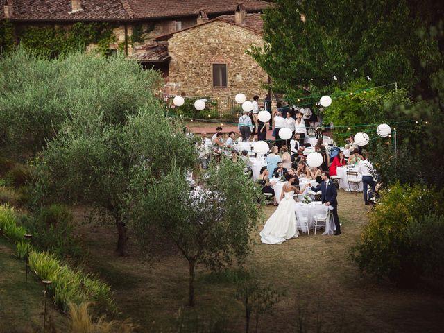 Il matrimonio di Isaac e Alice a Greve in Chianti, Firenze 46
