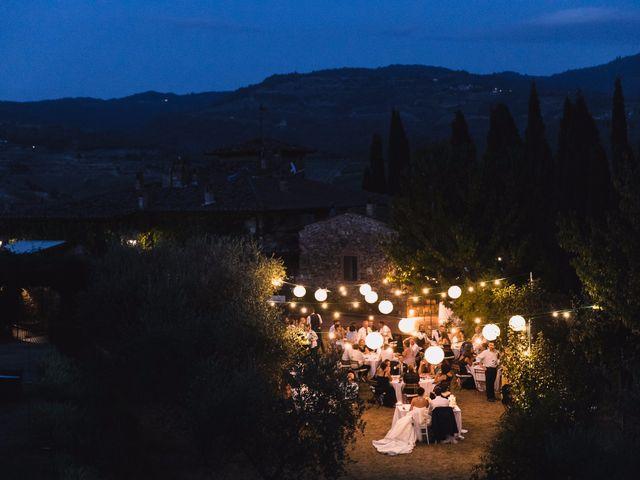 Il matrimonio di Isaac e Alice a Greve in Chianti, Firenze 47