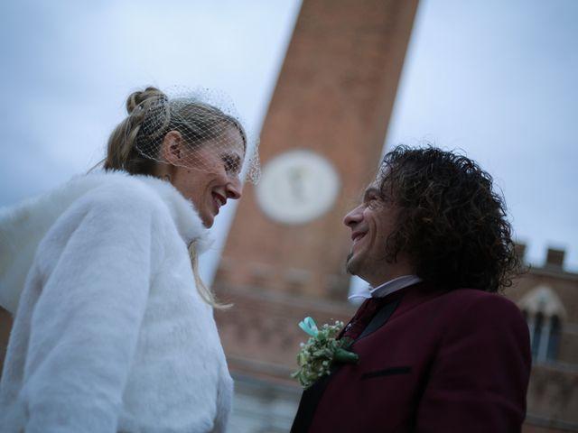 Il matrimonio di Michela  e Simone a Siena, Siena 32