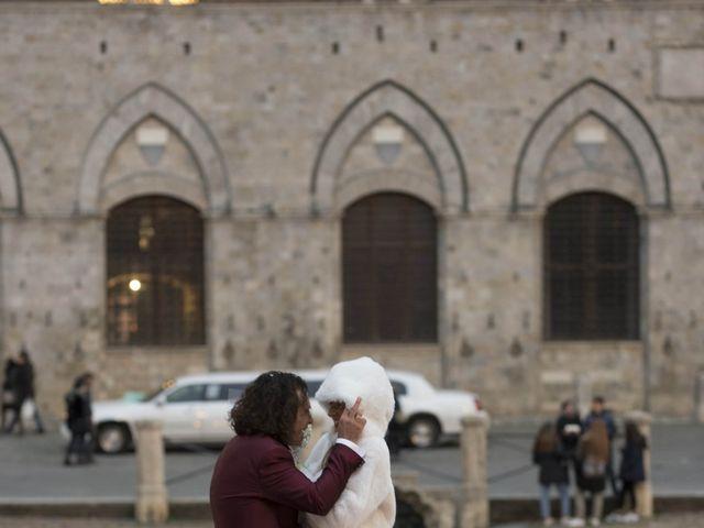 Il matrimonio di Michela  e Simone a Siena, Siena 41