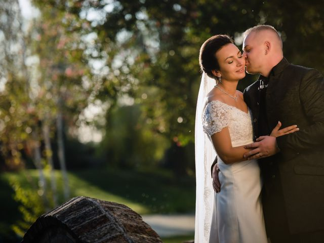 le nozze di Gina e Dragos
