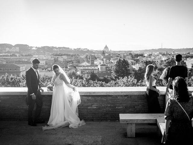 Il matrimonio di Flavia e Andrea a Roma, Roma 11
