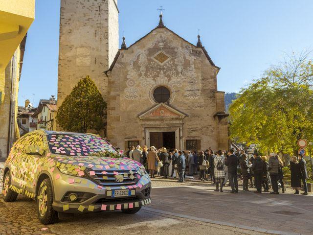 Il matrimonio di Marco e Martina a Baselga di Pinè, Trento 9
