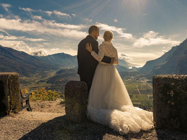 Il matrimonio di Marco e Martina a Baselga di Pinè, Trento 11