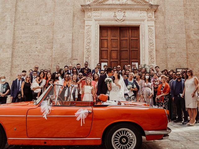 Il matrimonio di Francesca e Antonio a Manduria, Taranto 44