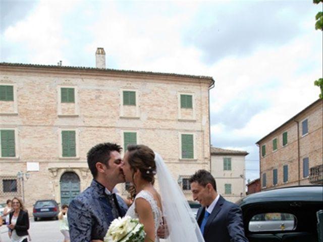 Il matrimonio di Moreno e Francesca a Monte San Vito, Ancona 10