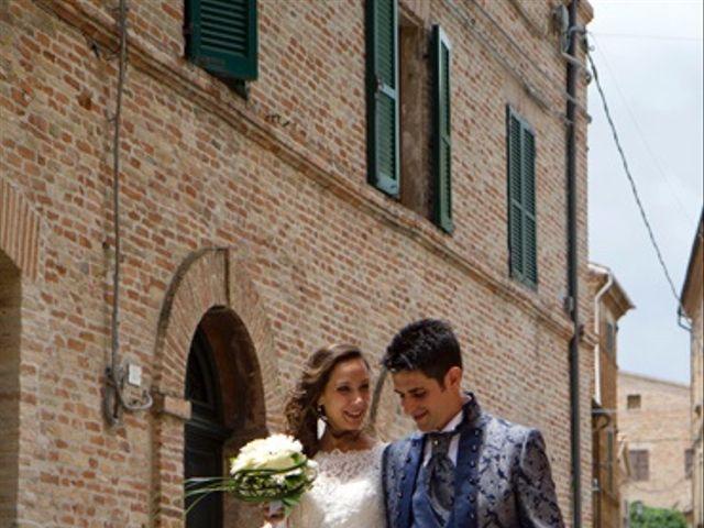 Il matrimonio di Moreno e Francesca a Monte San Vito, Ancona 18