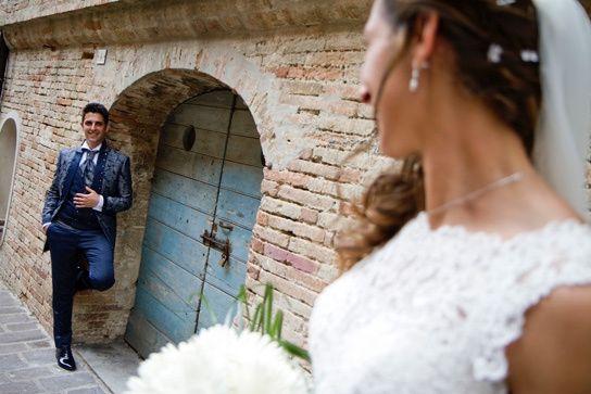 Il matrimonio di Moreno e Francesca a Monte San Vito, Ancona 20